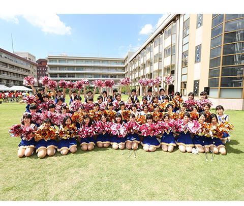 バトントワーリング部 クラブ活動 大阪成蹊女子高等学校